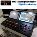 TIPTOP MA2 Свет Этапа Контроллер Двойной LED Экран 4 Собственности Код колесо Двойной 15.6 Дюймов Широкоформатный Сенсорный Дисплей Кофр