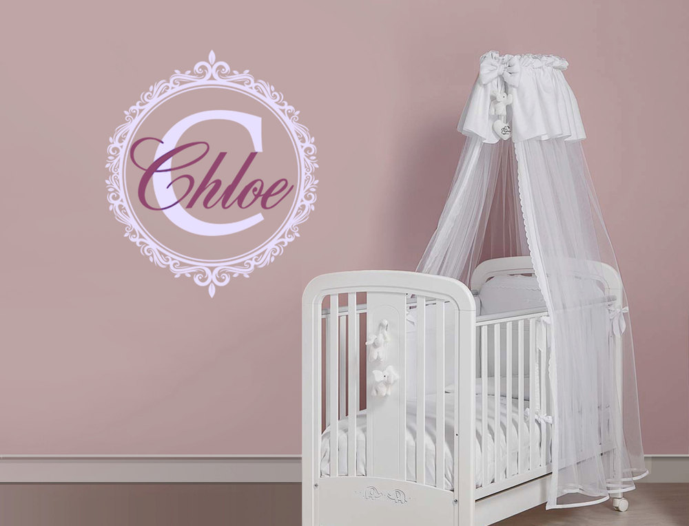 Fantástico Personalized Name Picture Frame Motivo - Ideas ...