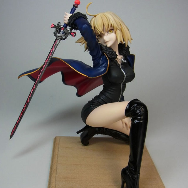 3 Styles Wonder Festival 2018 Fate Grand Order Jeanne d'Arc  Alter 1/8 Resin Action Figure GK Collection Model Toy china version