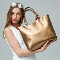 DikizFly Fashion Luxury Brand Bag Women Casual Handbags Big Shoulder Bags Genuine Leather Women Bag Eurpean