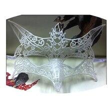 Классический стиль 1 шт. сексуальные женские Кружевные маски вырез глаз маски для хеллоуина маскарадный костюм для вечеринки в форме лисы