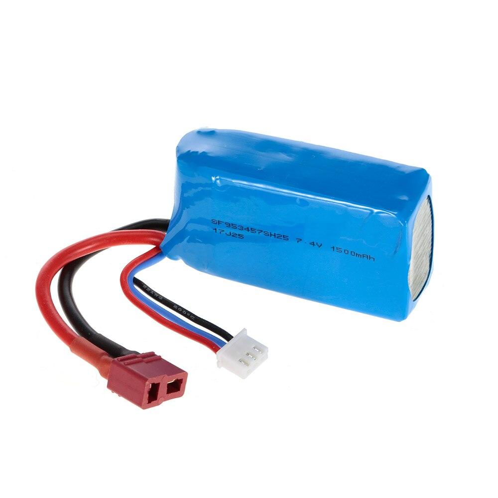 Batterie Rechargeable de batterie de LiPo de voiture de 7.4 V 1500 mAh RC pour la voiture de Buggy de WLtoys A959 A959-B A979-B