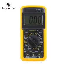все цены на Prostormer LCD Digital Multimeter Capacitance measurement Voltmeter Ammeter Ohm Tester Electronic Tester LCD Display AC/DC онлайн
