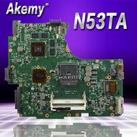 Akemy N53TA Laptop motherboard for ASUS N53TA N53TK N53T N53 Test original mainboard