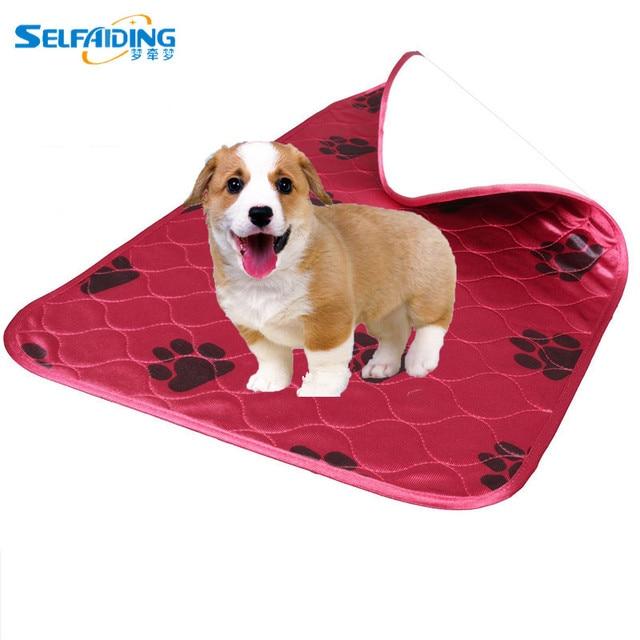 Premium Resistente Alle Macchie Rapida Assorbente Impermeabile Riutilizzabile/Quilted Lavabile Grande Cane/Puppy Training Pee Pads Viaggi Mat