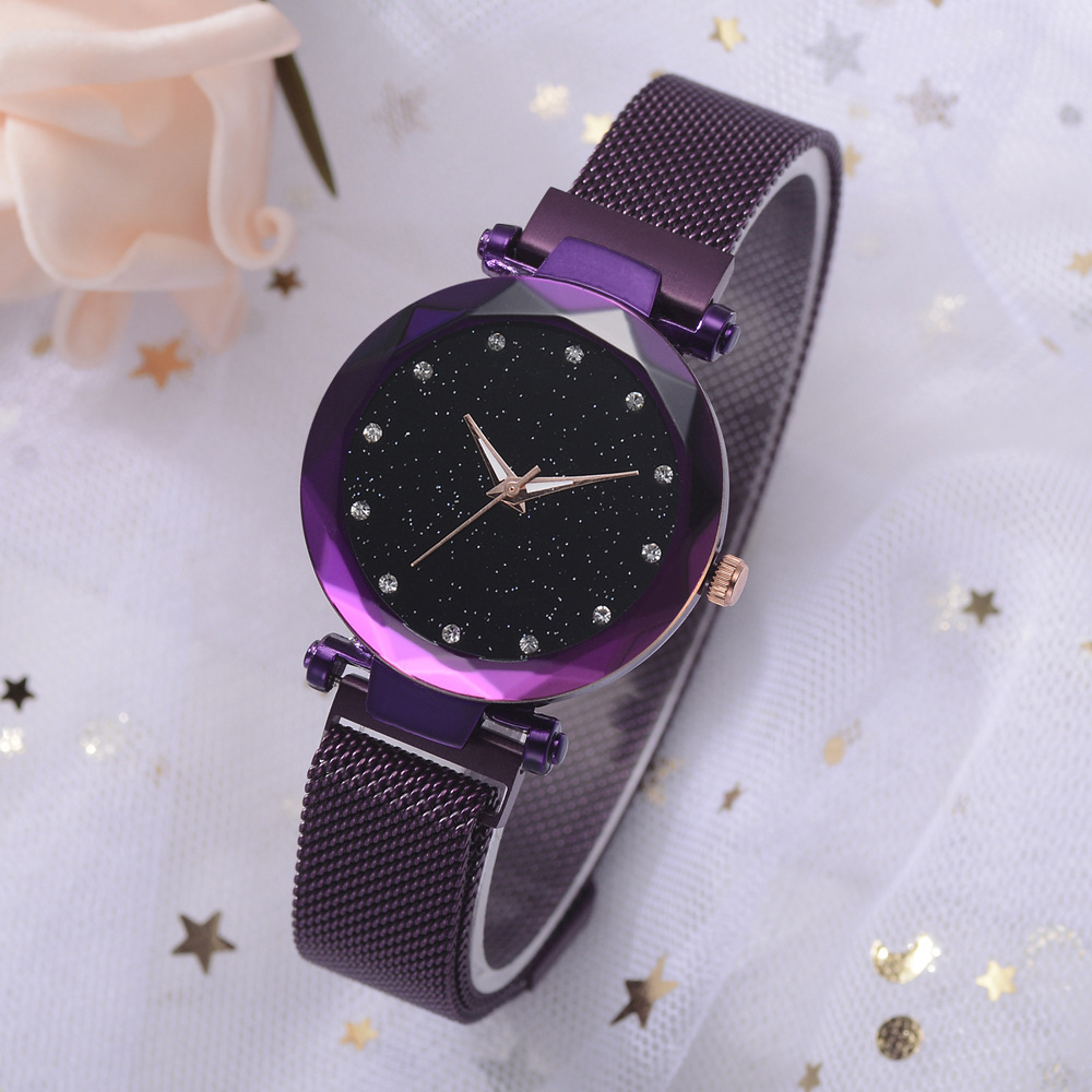 Luxury Women Watches Ladies Magnetic Starry Sky Watch Women Fashion Diamond Women's Watches Clock Reloj Mujer Relogio Feminino