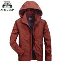 2016 New Arrival AFS JEEP Jacket Men Brand Clothing Cotton Windbreaker Army Jacket Men Chaqueta Hombre