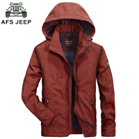 2016 New Arrival AFS JEEP Jacket Men Brand Clothing Cotton Windbreaker Army Jacket Men Chaqueta Hombre