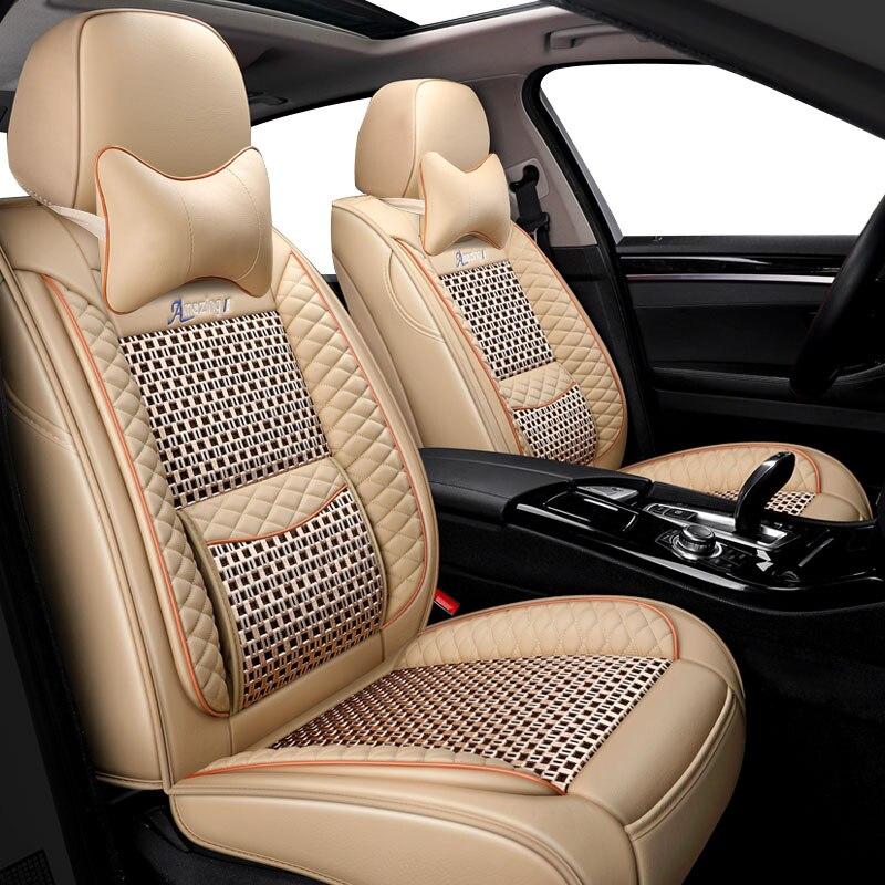 Housse de siège de voiture pour hyundai solaris tucson 2017 creta getz i30 i20 accent ix35 housses accessoires pour siège de véhicule