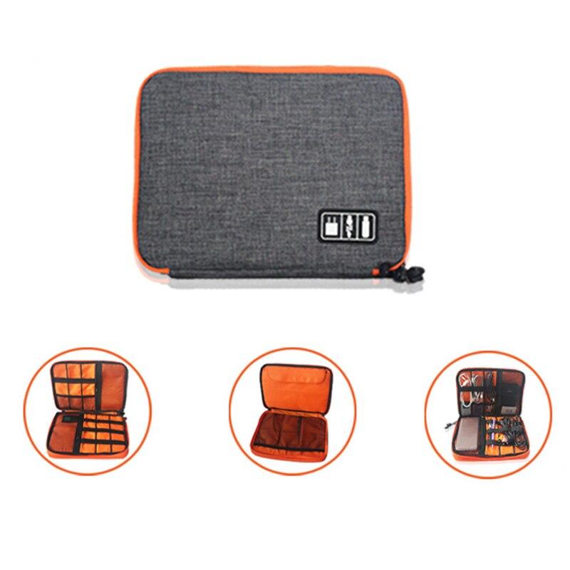 Tablet-/Festplatte Tasche Organizer Fall Daten Kabel Stoßfest Für Reise Digitale Geräte SL @ 88