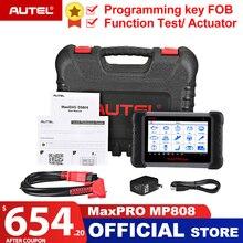 Autel MaxiPRO MP808 OBD2 OBDII Ferramenta de Verificação de Leitor de Código de Diagnóstico do Scanner Automotivo Ferramenta de Codificação Chave como Autel MaxiSys MS906 DS808