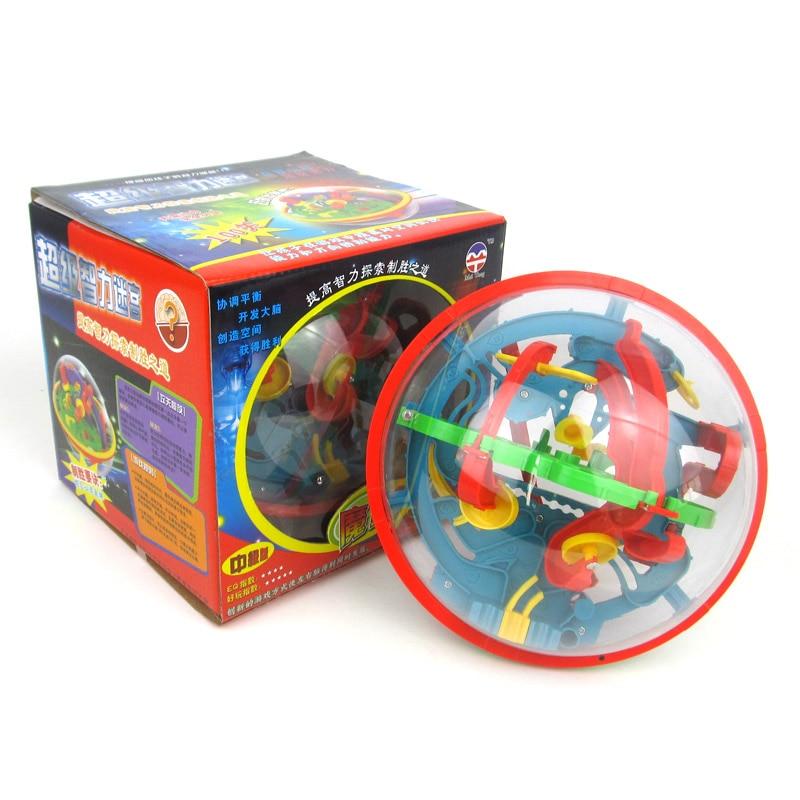 Novi 3D Magic Intellect Puzzle Maze Ball Mozgalica Igra Obrazovanja - Igre i zagonetke - Foto 4
