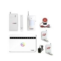 G63 Wireless Wired Phone SIM GSM Home Burglar Security GSM Alarm System English Russian Spansih Voice
