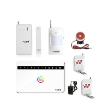 G63 Wireless/wired Phone SIM GSM Home Burglar Security GSM Alarm System English Russian Spansih Voice Prompt Alarm Sensor kit