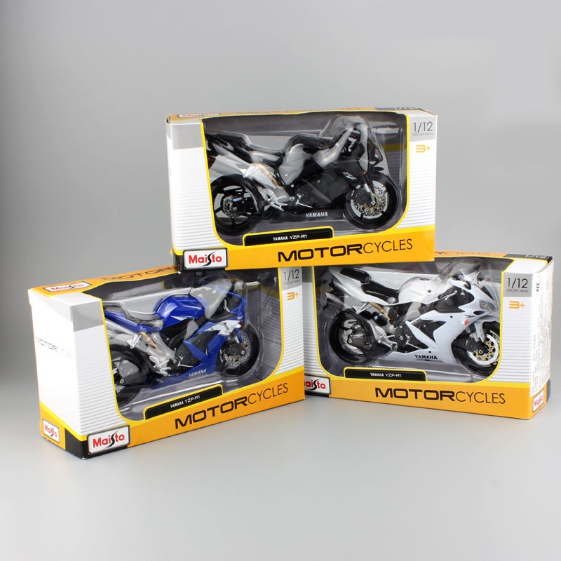 Yamaha Supercross YZF R1 Model Toy Motorcycle 21