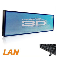 P5 39 X 14inch Full Color Indoor LED Video Display Screen Led Message Sign Programmable, Clearly Display Video / Music(voice)