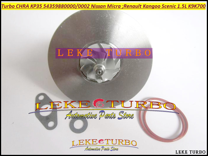 Turbocharger Turbo Cartridge CHRA KP35 54359880000 54359880002 For NISSAN Micra For Renault Kangoo Megane Scenic 1.5L K9K K9K700