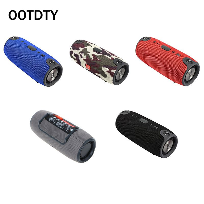 Portable Wireless Bluetooth Speaker Waterproof Subwoofer FM Radio Audio Stereo Bass