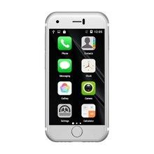 Original Soyes 7S Mini Android Smart Phone 2.54 High Resolution Screen Quan Core 1GB RAM 8GB ROM 5.0MP Dual SIM Phone in