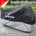 New Motorcycle Cover xl Size Water Proof Motorcycle Black  Sliver Down with Logo 210t Material Motocycle for150-250cc