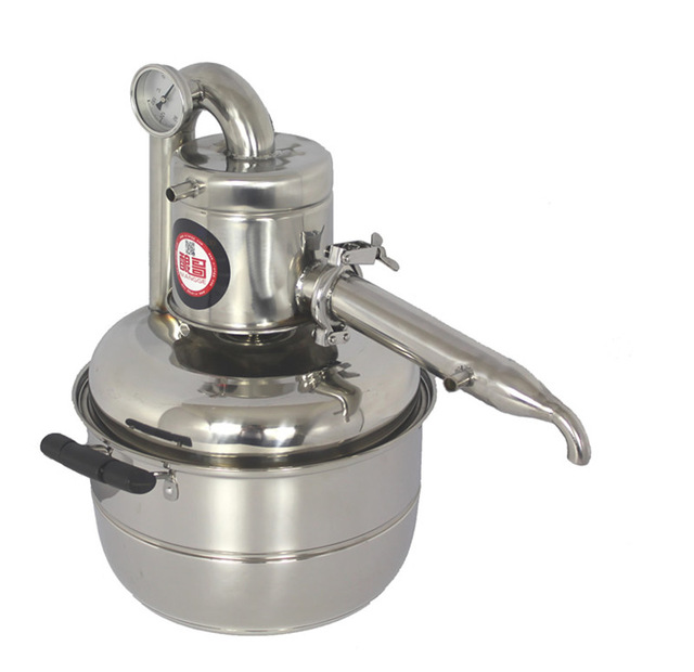 High quality stainless steel 10L new Home use wine brewing machine Wine distiller make wine and flower oil yourself