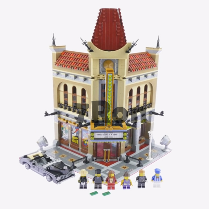 Model building toys hobbies Palace Cinema Doll House 15006 2354pcs Compatible With lego Blocks City 10232 Educational DIY Bricks china brand educational toys for children diy building blocks 3in1 seaside house 7346 compatible with lego