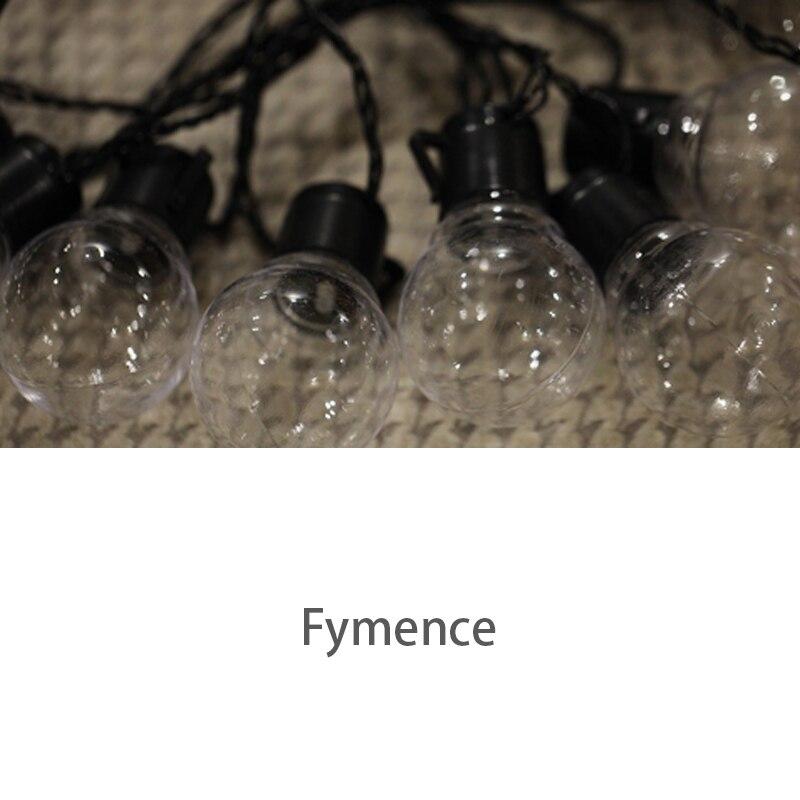 3* 10 Solar energy LED 2.5m String Lights Lamp Bulb Outdoor Waterproof Mount for Patio Garden Backyard Party Hall Restaurants