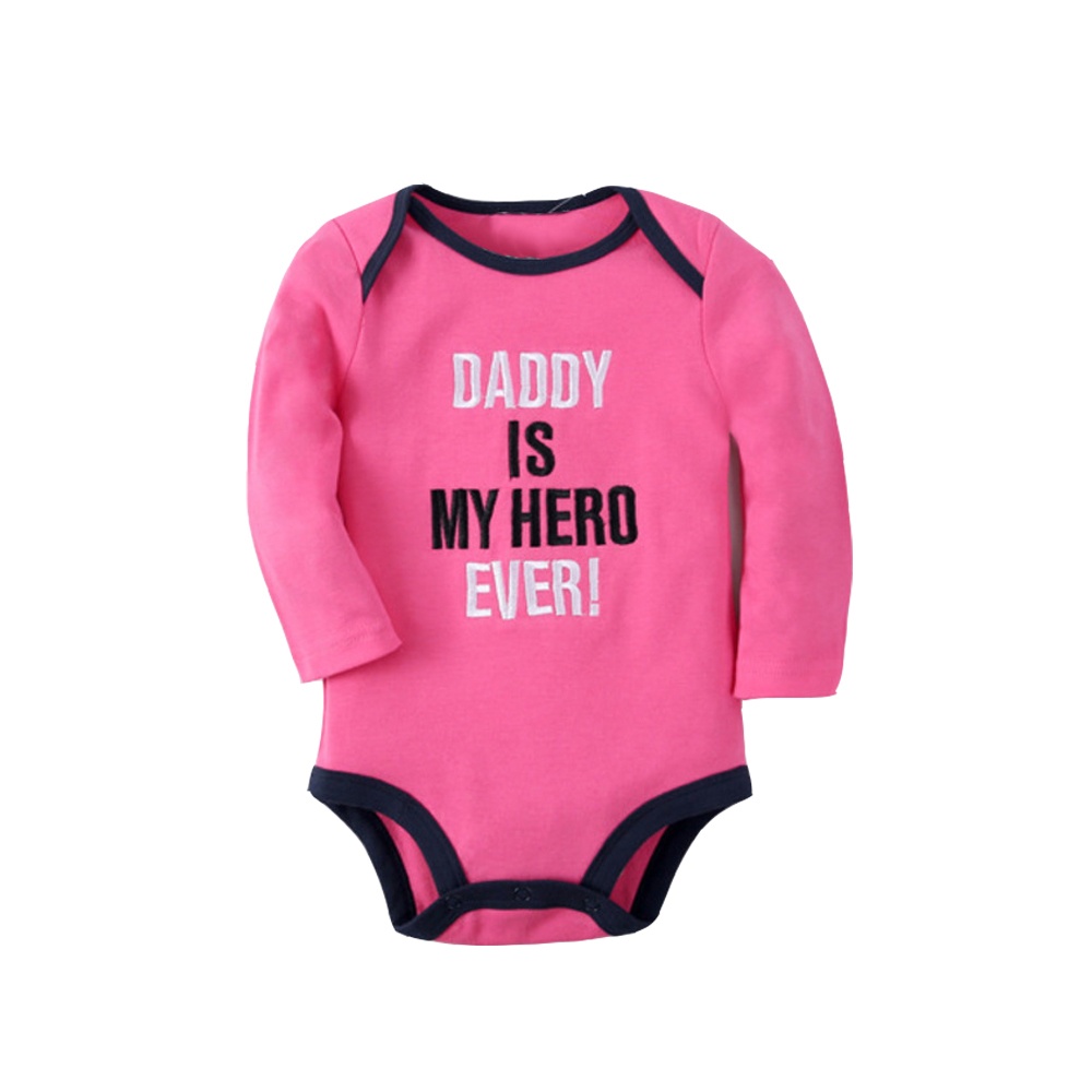 LEQEMAO Baby Clothing Baby Jumpsuit Autumn Baby Girls Climb Clothes Carter Embroidery Parenting Spring And Autumn Long Sleeve