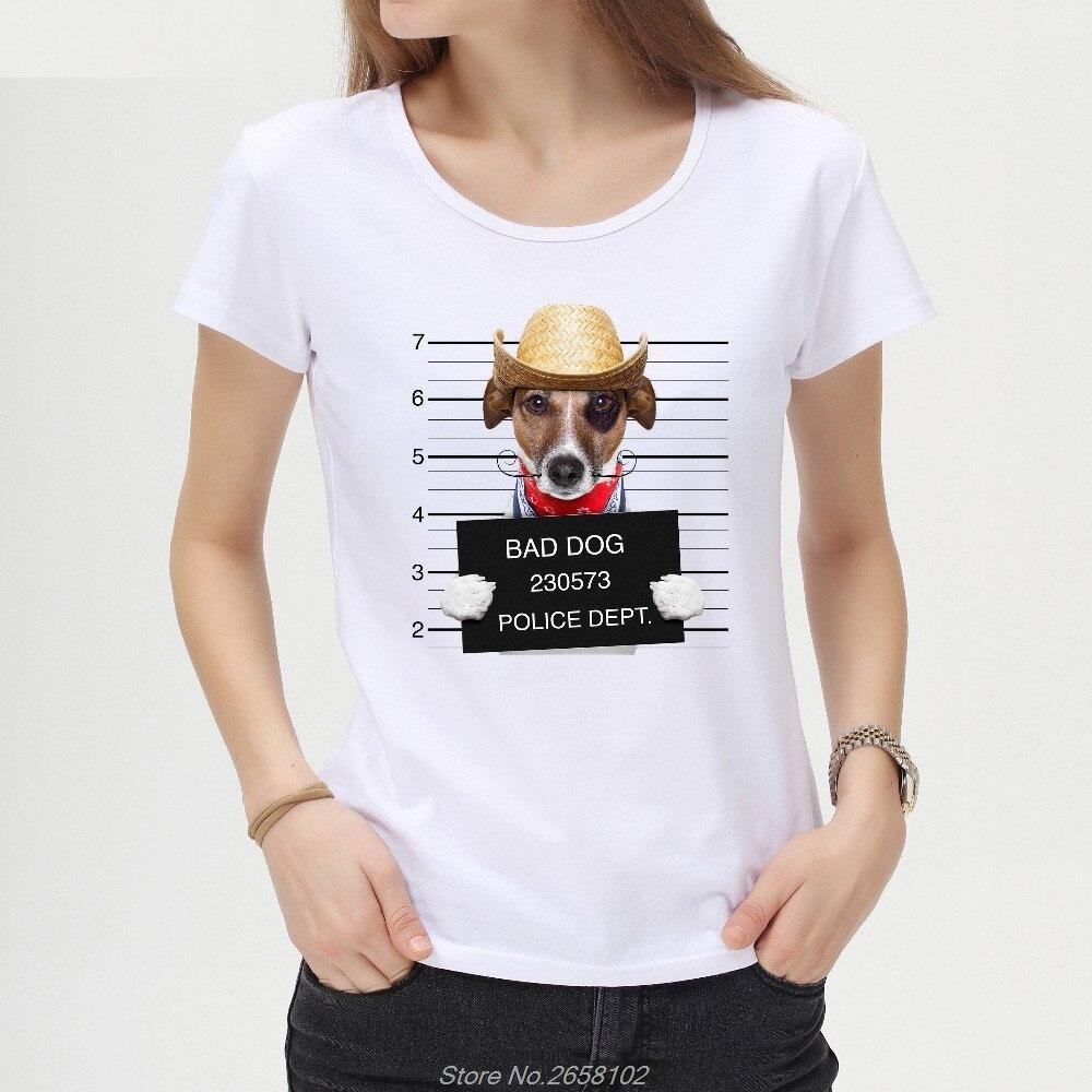 Funny Bad Dog Printed Women T-shirt Corgi French Bulldog Children T Shirt Novelty Short Sleeve Tee Tshirts Harajuku Streetwear