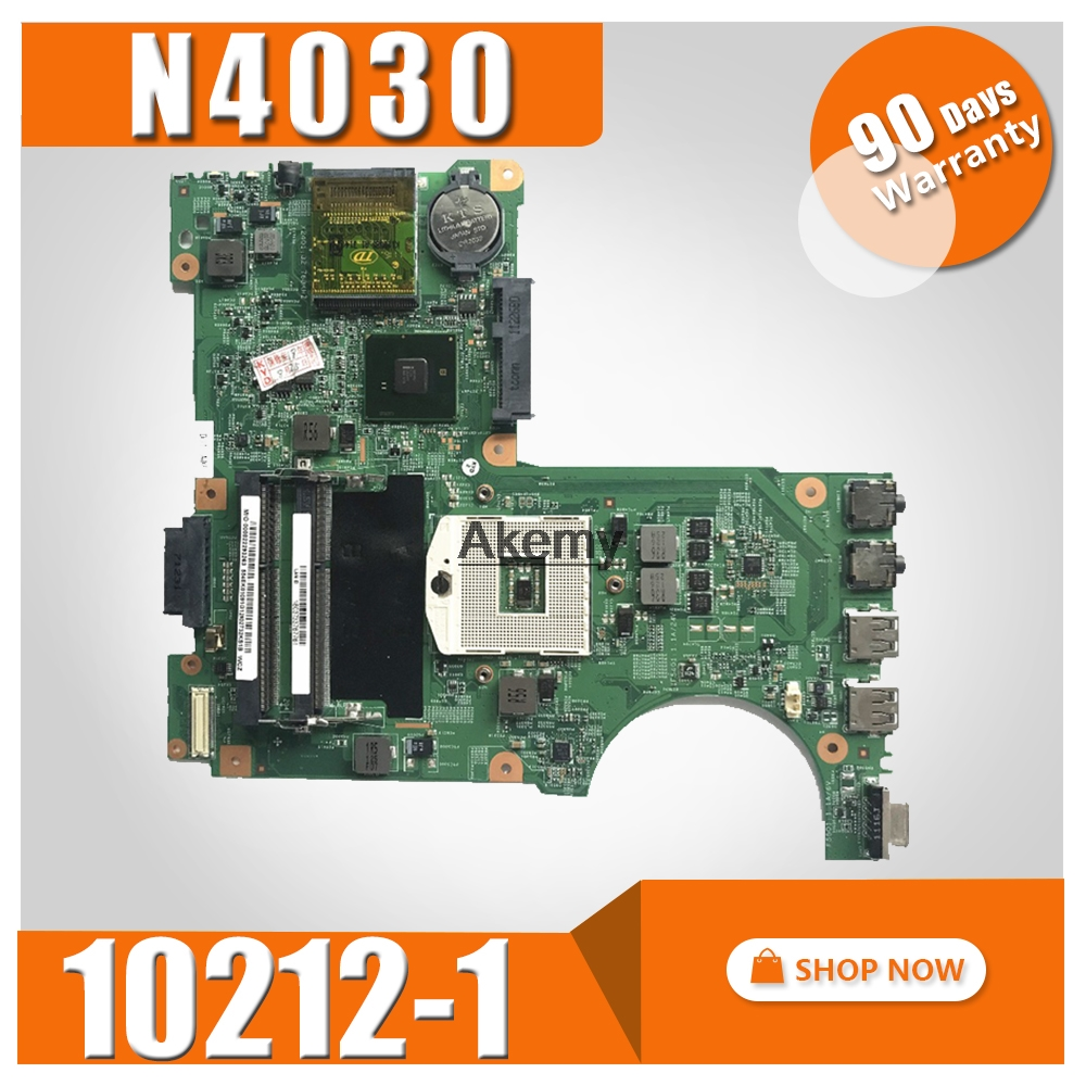 10212 1 For Dell Inspiron N4030 Laptop motherboard DDR3 PGA989 0H38XD CN 0H38XD HM57 mainboard original