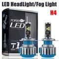 H4 Car Led Headlight High Power Auto H4-3 Hi/lo HB2 9003 High Low 40W X2 White 6000K Bulb Repalcement Bi Xenon Headlamp