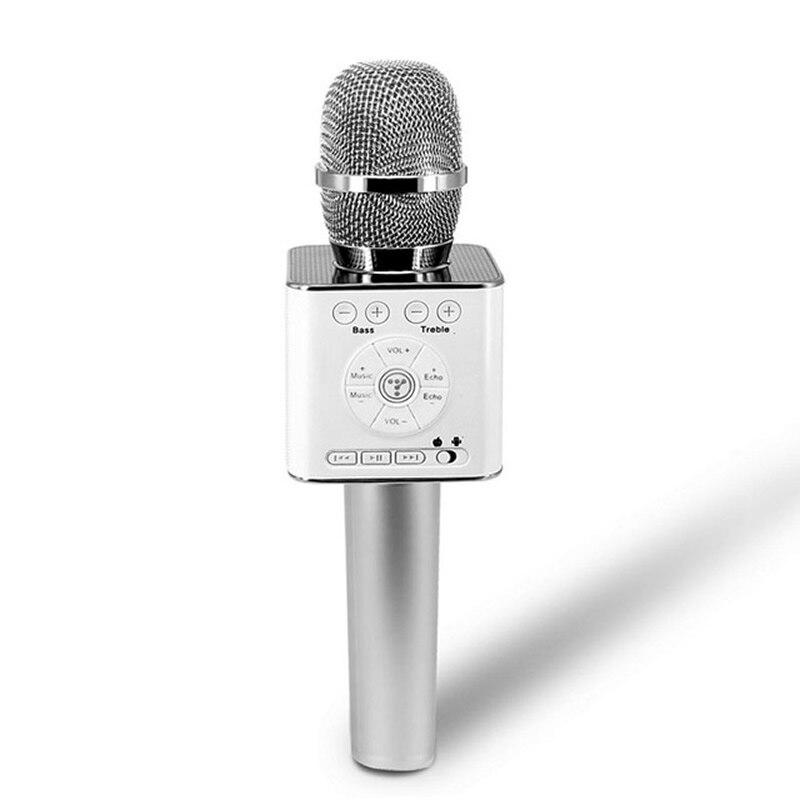 D'origine Marque Tosing Q9 04 sans fil Karaoké Microphone Bluetooth Haut-Parleur 2-en-1 De Poche Chanter et Enregistrement Portable KTV Lecteur