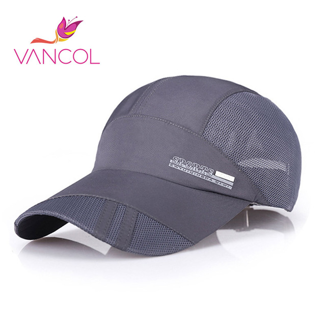 Vancol 2016 Causal Outdoor man  Fans 8 Colors Cotton Sanded Twill Fabric Baseball Cap Hat For Adult Men Women