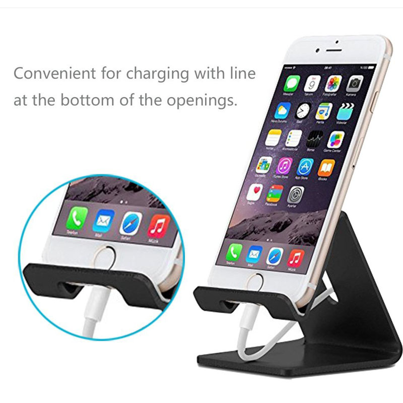 Universal Aluminum Metal Phone Stand Holder For iPhone 6 7 Plus Samsung S8 Tablet Desk Phone Holder Stand For Smart Watch P8 P9