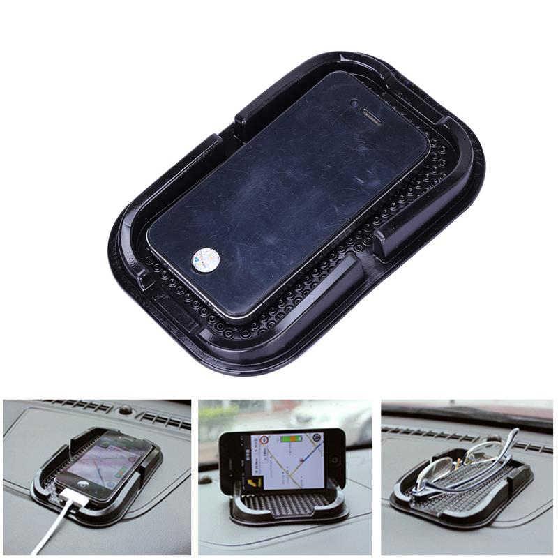 Voiture anti-dérapant en caoutchouc Mobile collant bâton tableau de bord téléphone étagère Anti antidérapant tapis Pad pour GPS MP3 voiture DVR antidérapant tapis titulaire