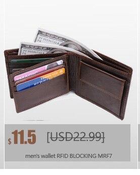Новинка, мужской кошелек, RFID Блокировка, мужской кошелек, модный, из искусственной кожи, кошелек, защита личности, мужские кошельки, MRF25