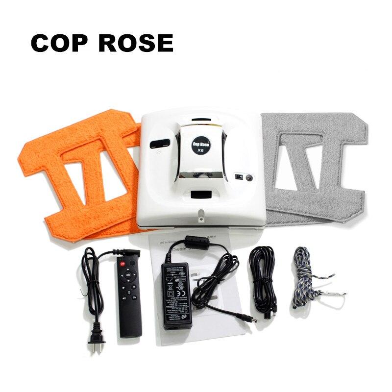 COP ROSA X6 Automatico Pulizia dei finestrini Robot, Rondella di intelligente, il Controllo Remoto, algoritmo di Anti caduta UPS Di vuoto di Vetro Strumento di Pulizia