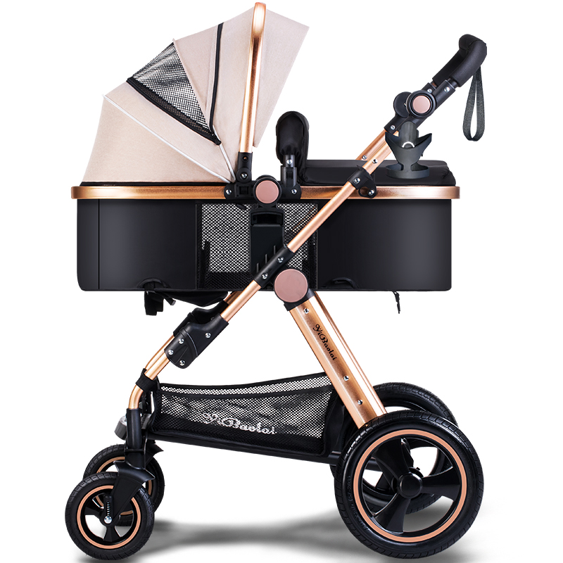 brand baby stroller car high landscape folding portable. Black Bedroom Furniture Sets. Home Design Ideas