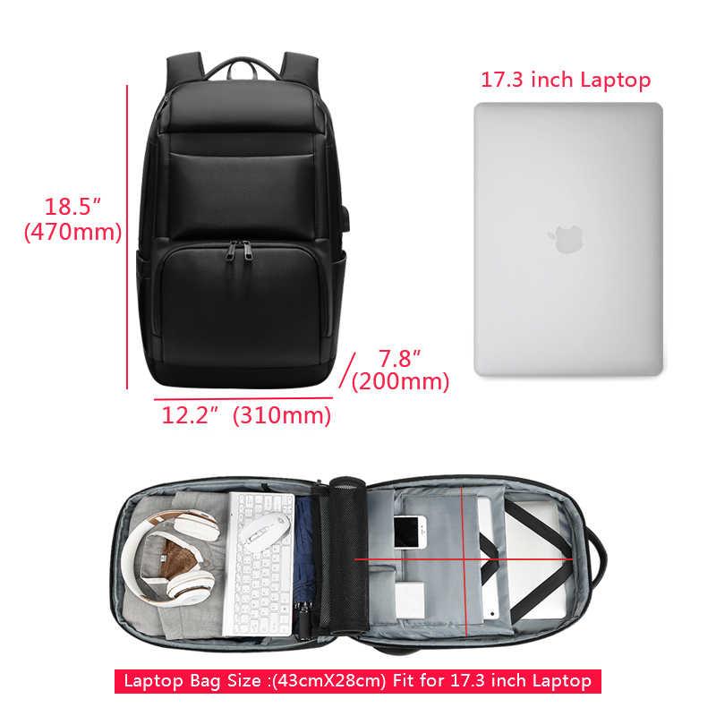 """Мужской рюкзак для путешествий, большой емкости, мужской рюкзак Mochila, рюкзак с защитой от вора, usb зарядка, 17,3 """", рюкзак для ноутбука, водонепроницаемый, n0007"""