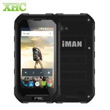 Иман X5 IP67 водонепроницаемый WCDMA 3 г смартфон 8 ГБ 3000 мАч 5.0MP 4.5 дюймов Android 5.1 MTK6580 Quad Core dual sim мобильный телефон