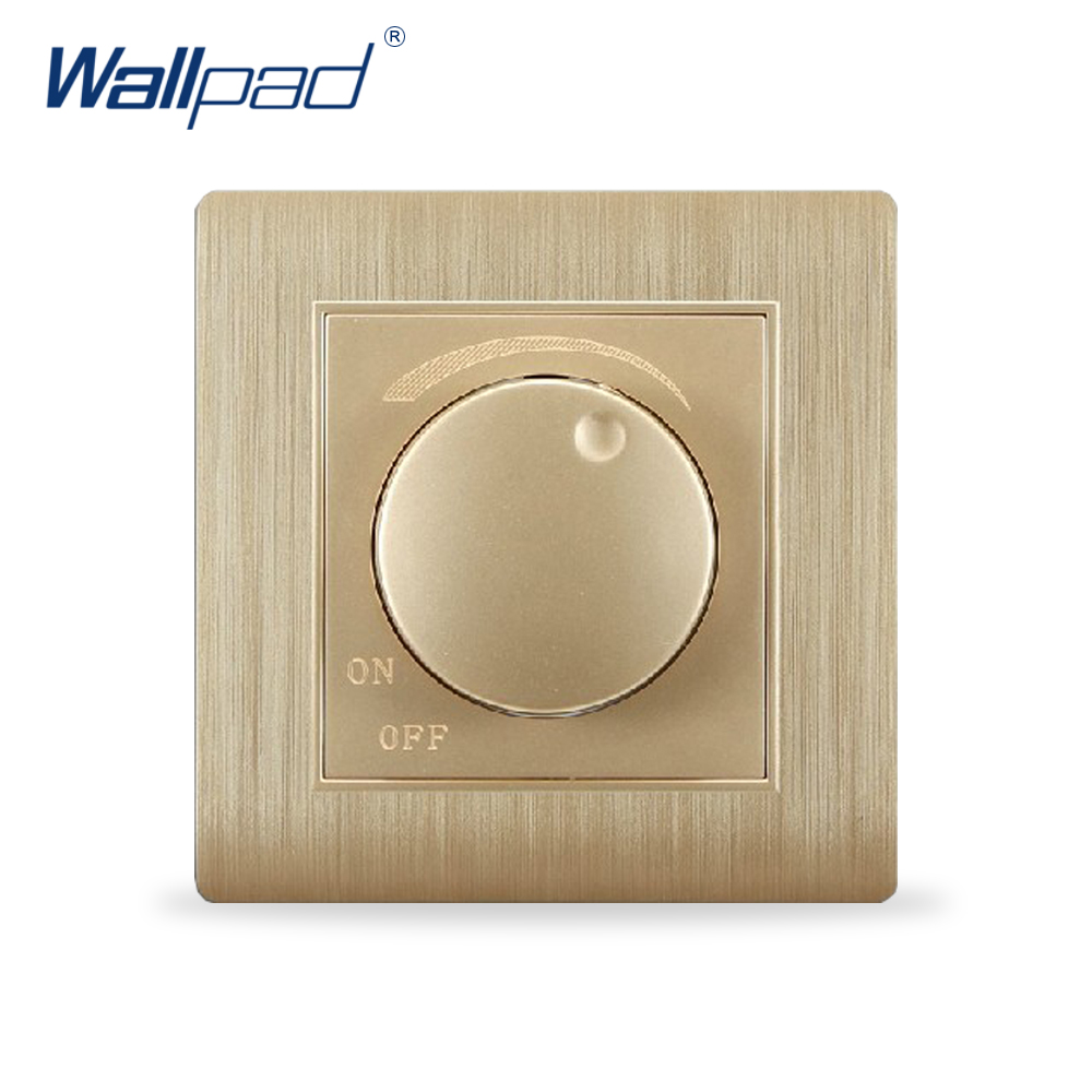 , Wallpad Luxury Wall Switch Panel, Dimmer, C31 Series, 86*86mm, 10A, 110~250V - Electric store