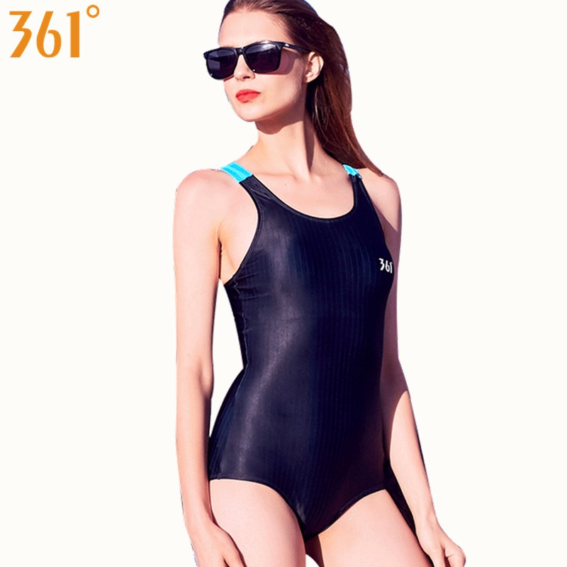 3281451e5e963 Detail Feedback Questions about 361 Pool Swimming Suit for Women Sports  Athletic Swimsuit Competion Swimwear Professional One Piece Suit Female  Black Swim ...