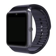 Smart Uhr GT08 Uhr Sync Notifier Unterstützung SIM-Karte Bluetooth für Apple iPhone Android Telefon Smartwatch Uhr