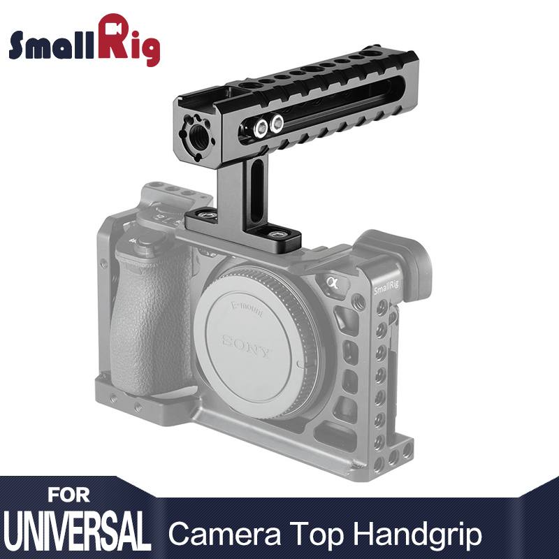 SmallRig Video Top Handle Action Stabilizing Universal Camera Handle Adjustable Grip With Arri locating holes - 1984