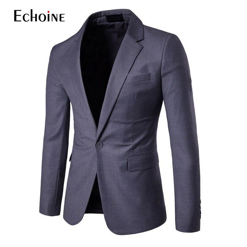 2019 Fashion Casual Slim Fit Button Suit Blazer Jacket Mens Knitting Cotton Suits Blazers Men Men Suit Jacket Plus Size 4XL 5XL