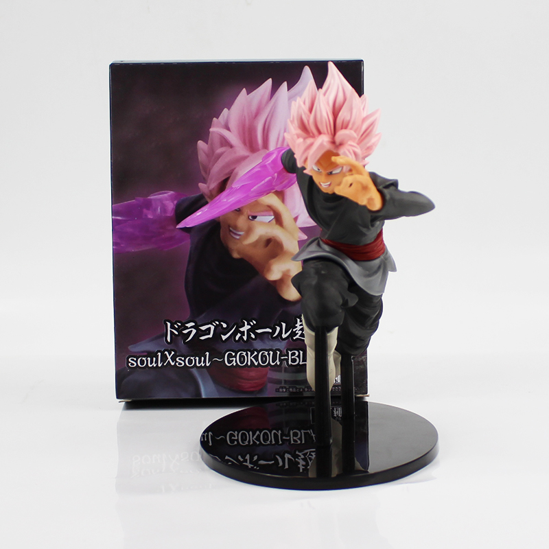 20cm black Son Goku with sword pvc action figure model toy Hot anime Dragon Ball Z Super Saiyan black GOKOU pink hair model toy new hot christmas gift 21inch 52cm bearbrick be rbrick fashion toy pvc action figure collectible model toy decoration