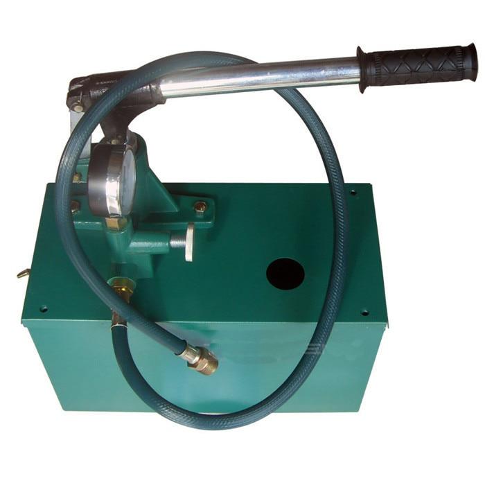 Hydraulische Handhand Wasser Druckprufpumpe Pipeline Druckprufung