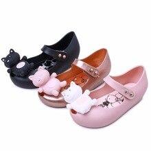 Mini Melissa 2019 Summer New Brazilian Jelly Sandals Girl Boy Children Shoes