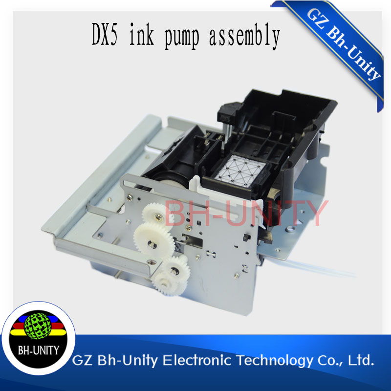 factory price!! Made in china!!dx5 printhead solvent ink assembly for yaselan allwin JHF skywalker large format inkjet printer hot sale single dx5 ink pump assembly for flora versacamm leopard large format printer machine