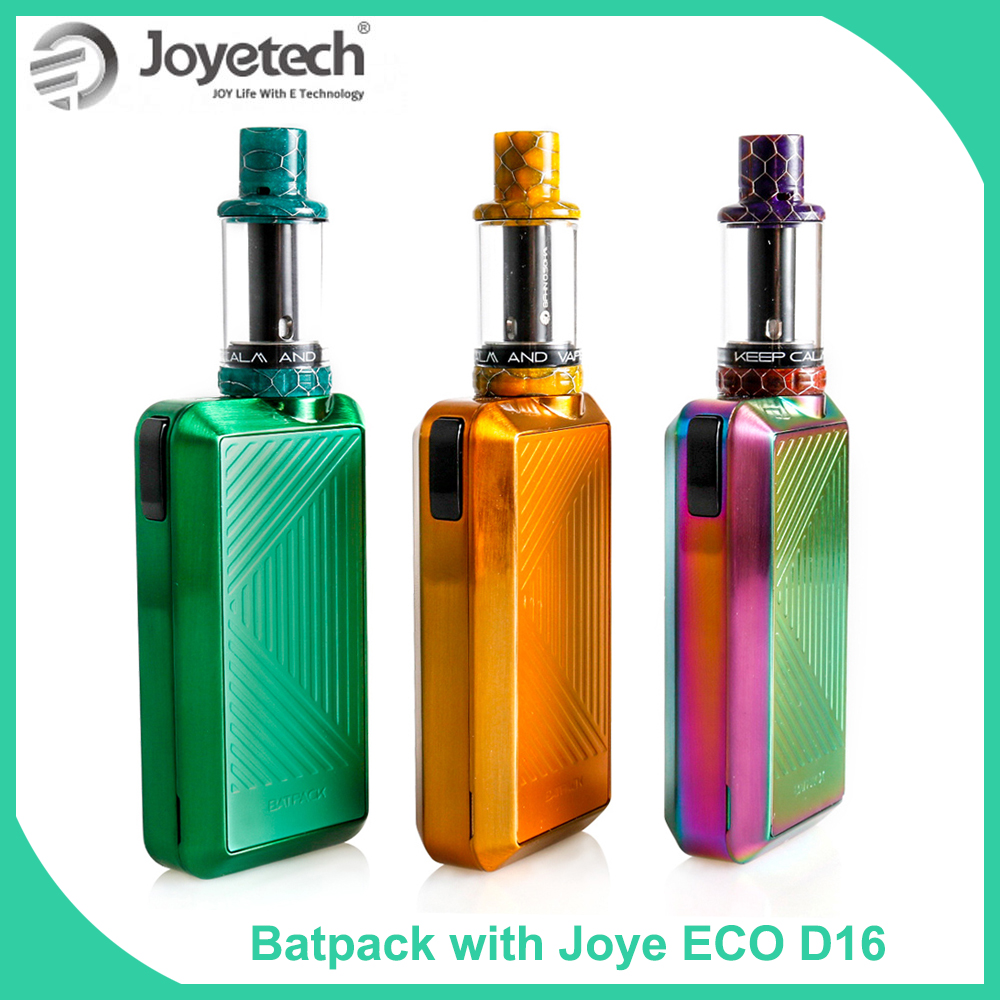 Original <font><b>Joyetech</b></font> BATPACK Kit with Joye ECO D16 Atomizer with <font><b>BFHN</b></font> <font><b>0.5ohm</b></font> MTL. head 2.0ml tank E-Cigarette vape kit image
